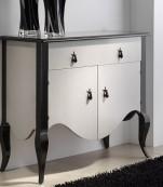 Mueble auxiliar 1 cajon, 2 puertas