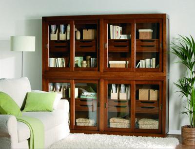 Librería Cajones Puertas Correderas De Cristal La Galería De Almonte