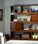 Librería modular cuatro cajones
