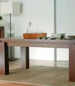 Mesa comedor rectangular extensible