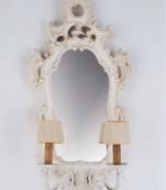 Aplique espejo grande decape lagrimas transparente