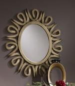 Espejo ovalado oro