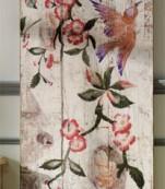 Tabla pintada pajaro