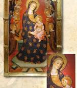 Retablo Virgen de los angeles